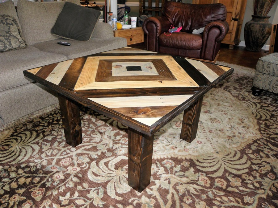 Pallets Square Coffee Table