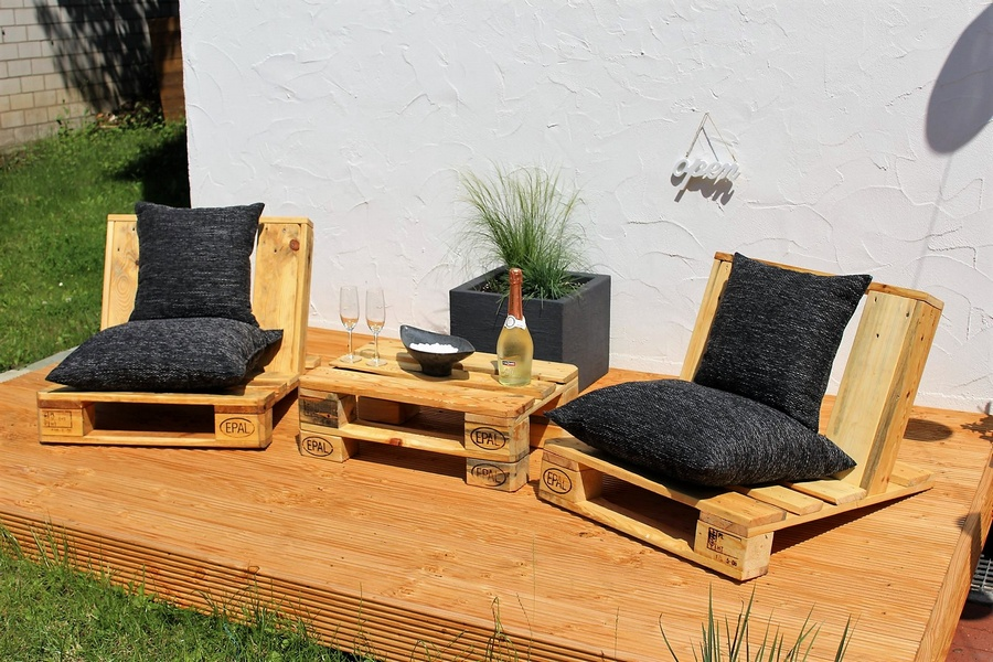 Urban Style Pallet Patio Furniture