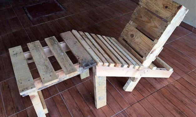 Repurposed Used Wood Pallets Chair