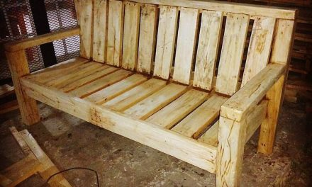 DIY Recycled Wood Pallet Bench Plan