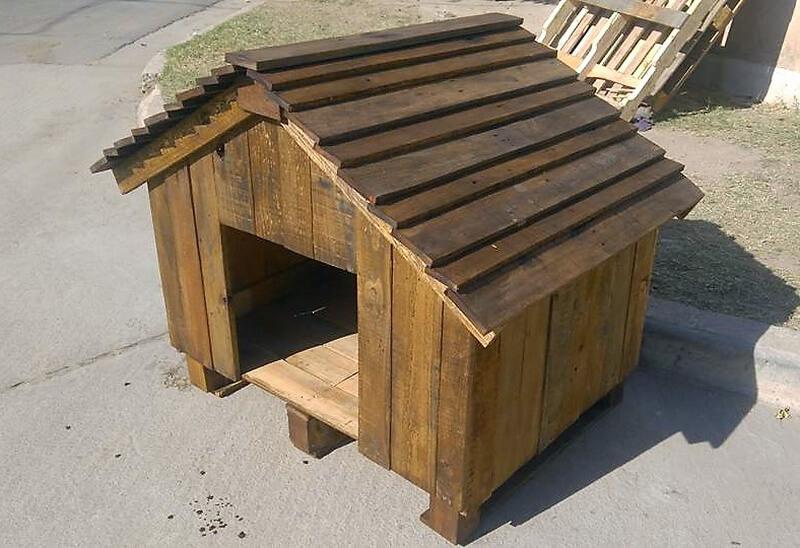 DIY Wooden Pallets Made Dog House | Wood Pallet Furniture