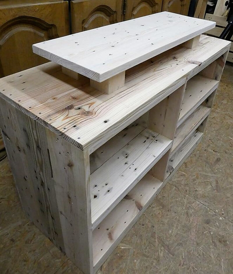 Repurposed Wood Pallets Tv Stand Idea Wood Pallet Furniture