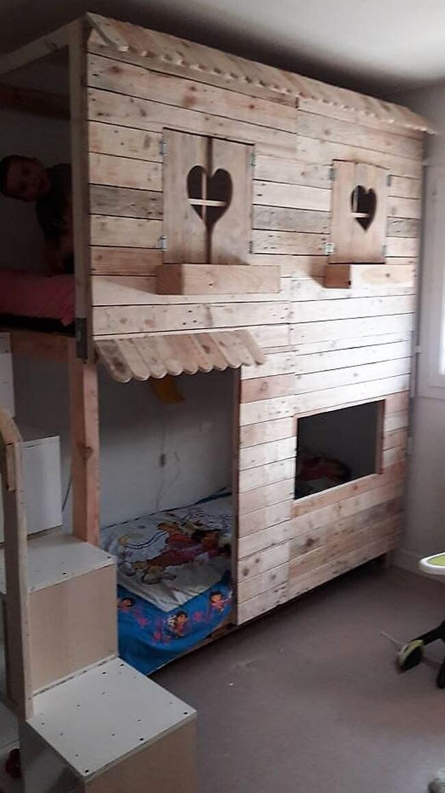 Wood Pallet Projects Diy Shelves