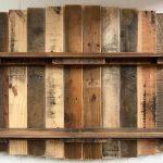 Repurposed Wood Pallet Rustic Shelf Plan