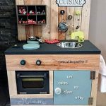 Kids Mud Kitchen Made with Used Pallets