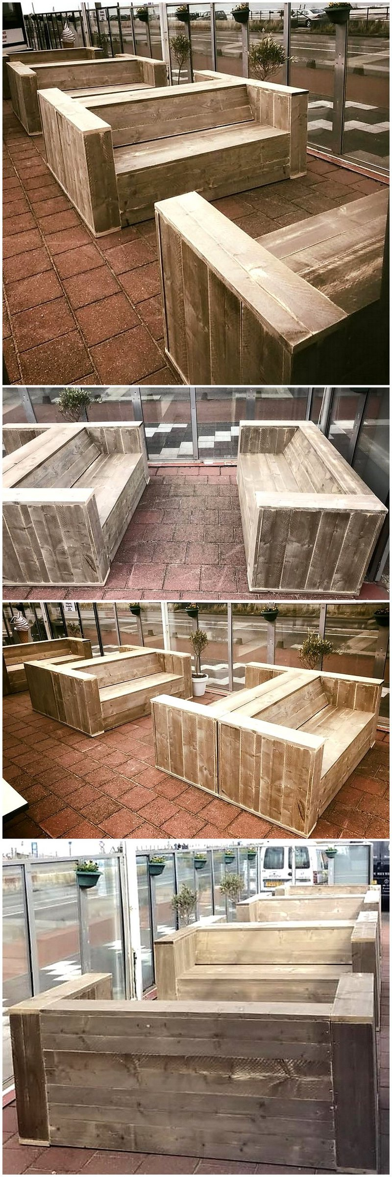 outdoor pallets wooden furniture