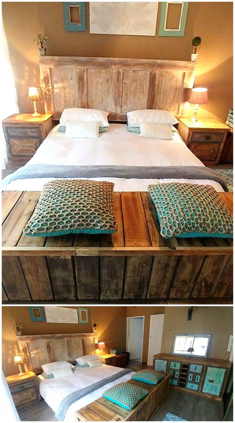pallet bedroom plan