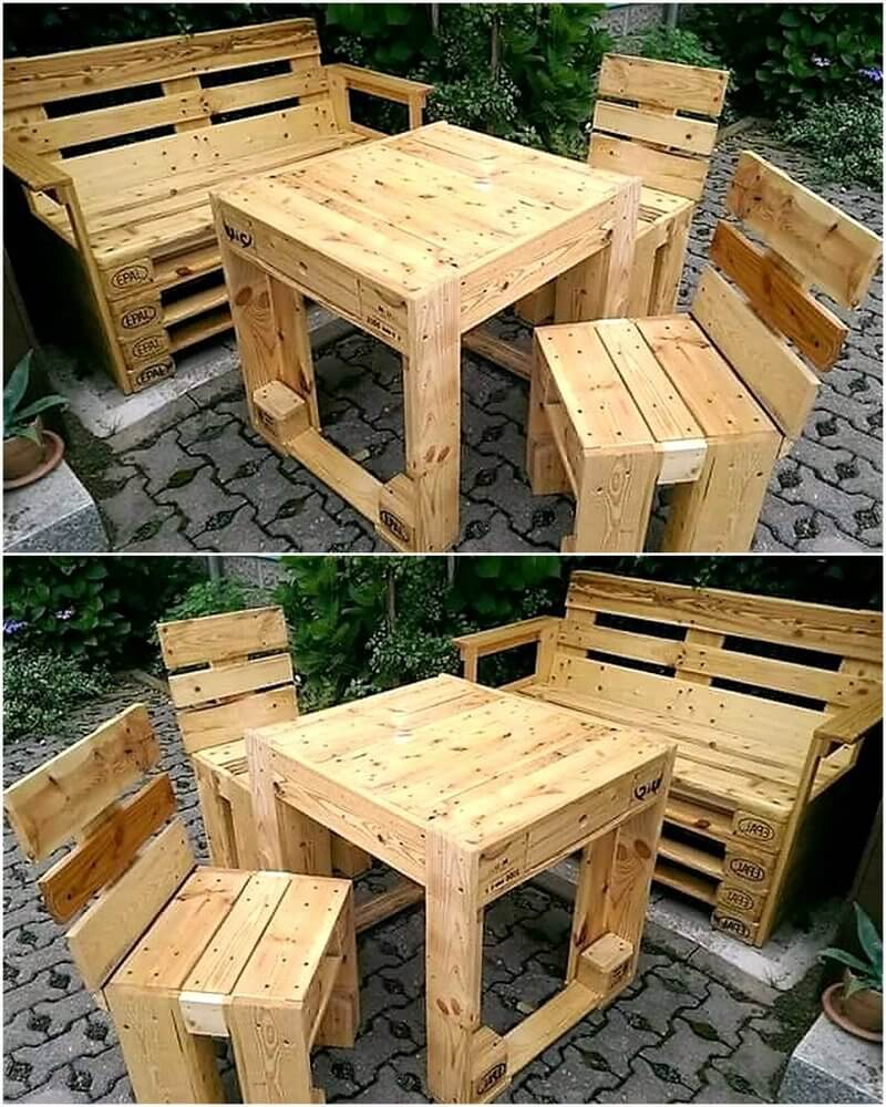 pallet oudroor furniture