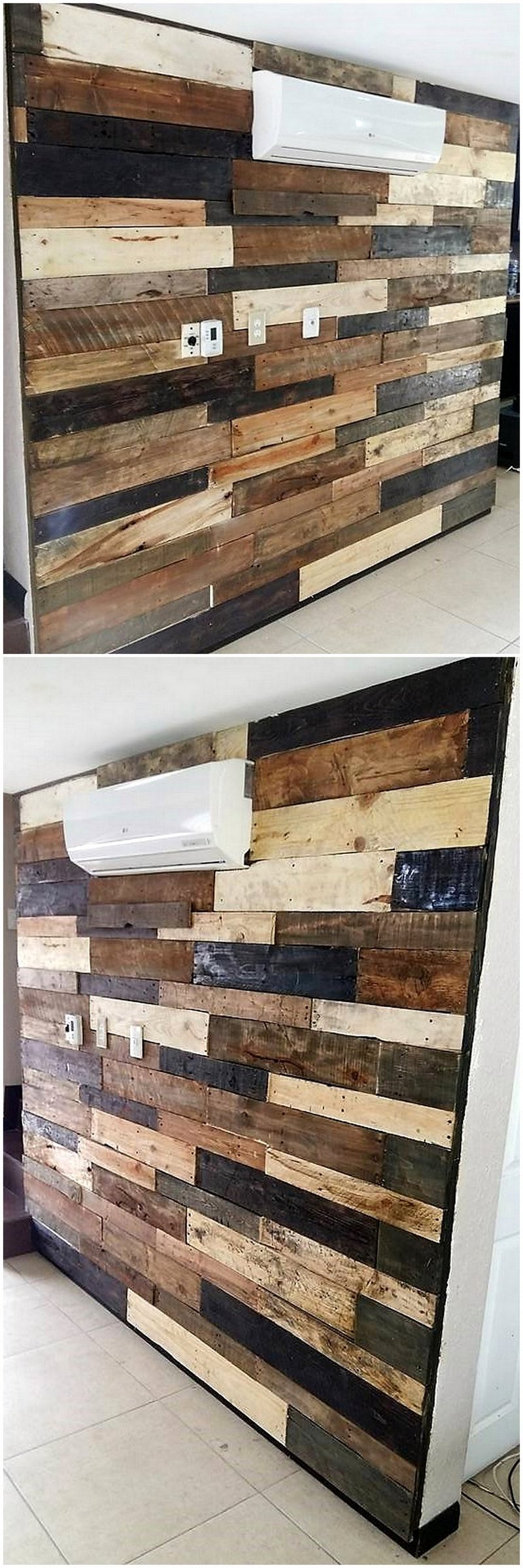 pallets wall works