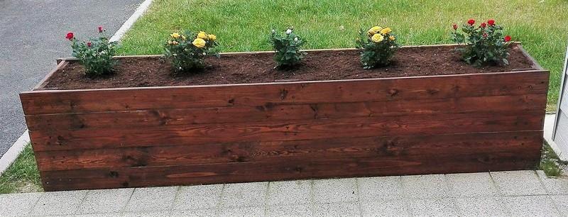 pallets wooden planter