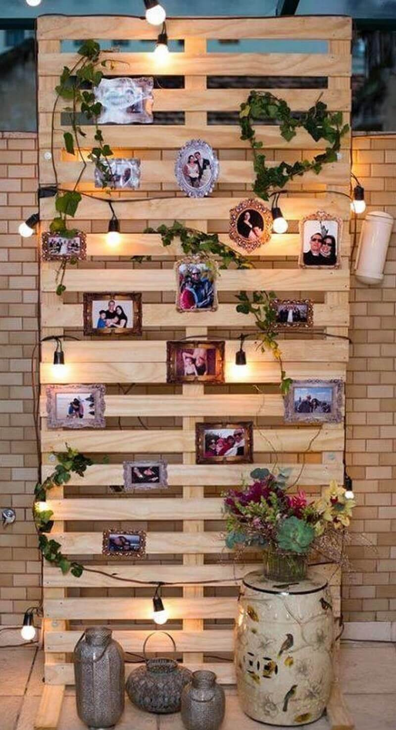 Wood Pallet Party Decor Art