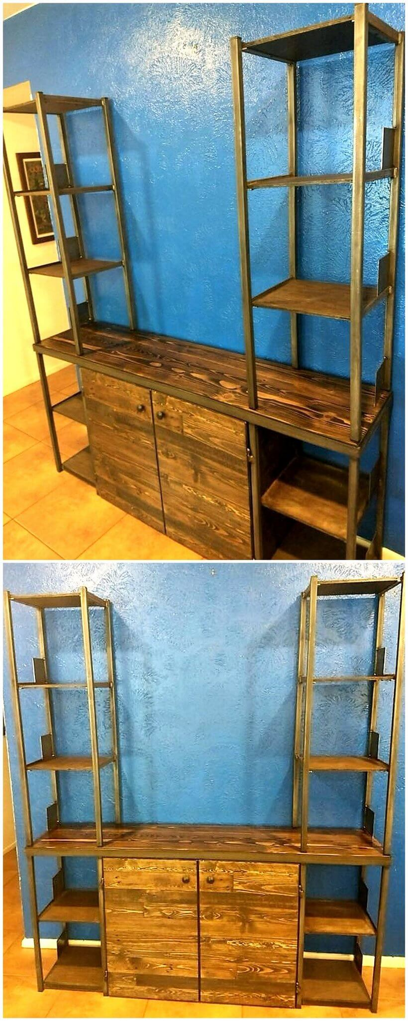 pallet entertainment centre