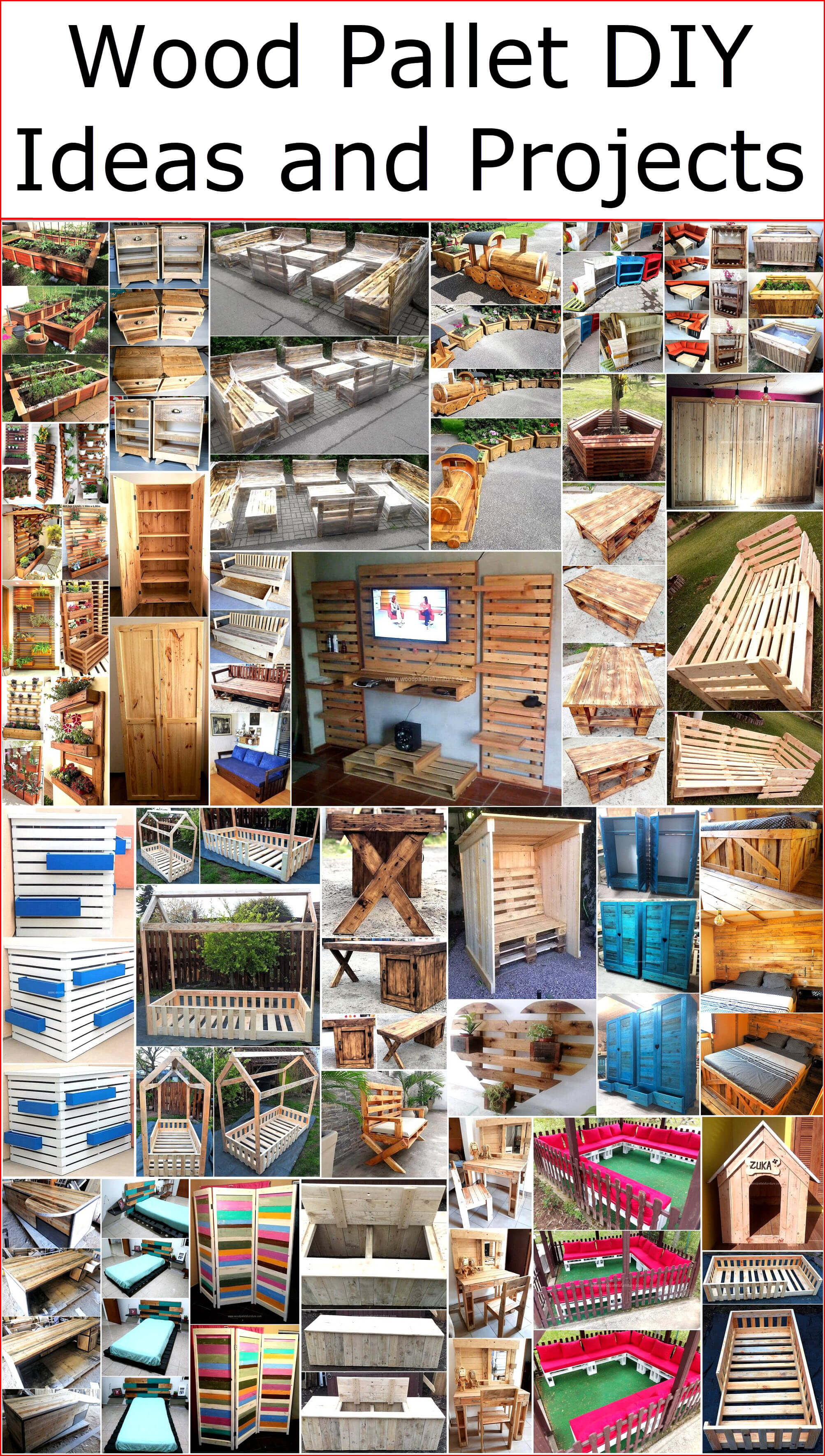 Wood Pallet Diy Ideas And Projects Wood Pallet Furniture