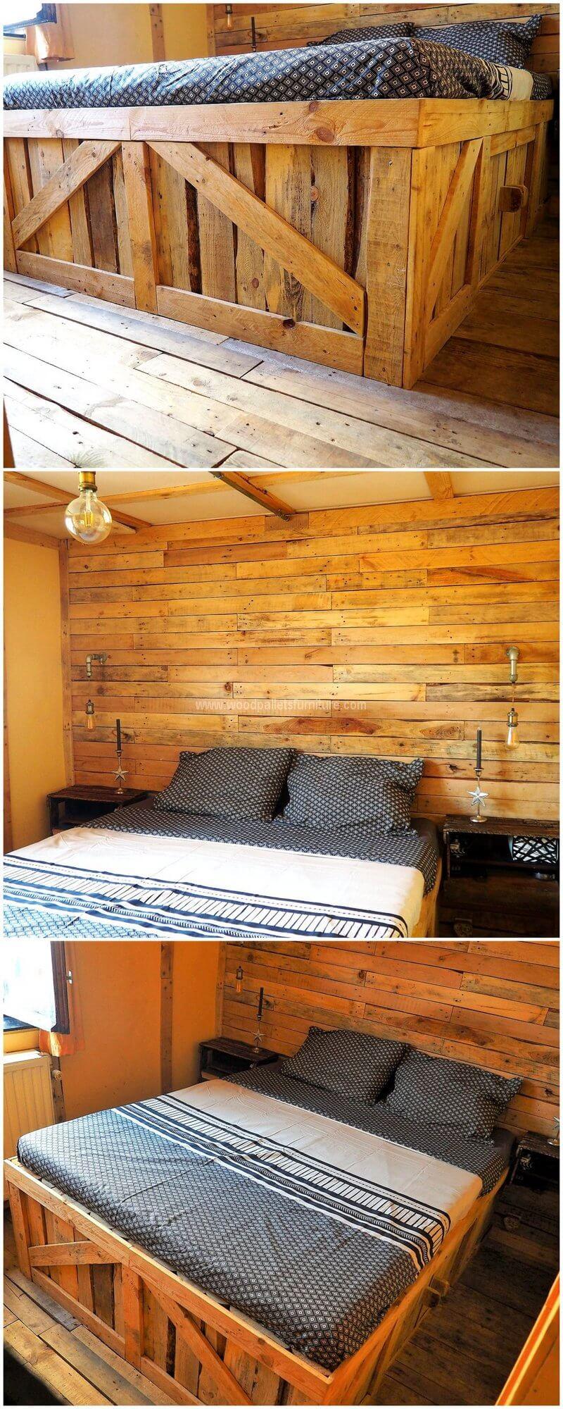 Patio En Bois De Palette wood pallet diy ideas and projects | wood pallet furniture